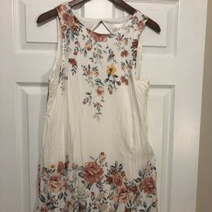Xhilaration floral summer dress